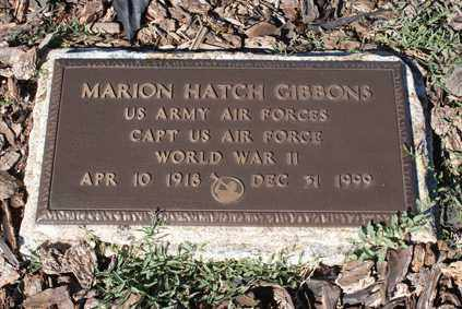 GIBBONS, MARION HATCH - Apache County, Arizona | MARION HATCH GIBBONS - Arizona Gravestone Photos
