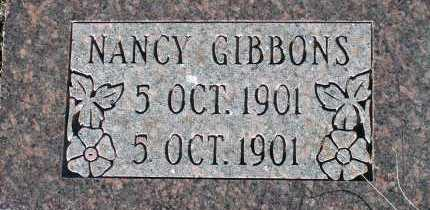 GIBBONS, NANCY - Apache County, Arizona | NANCY GIBBONS - Arizona Gravestone Photos