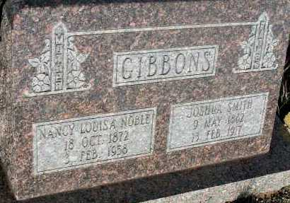 GIBBONS, NANCY LOUISA - Apache County, Arizona | NANCY LOUISA GIBBONS - Arizona Gravestone Photos
