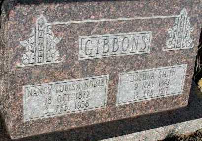 GIBBONS, NANCY LOUISA - Apache County, Arizona | NANCY LOUISA GIBBONS - Arizona Gravestone Photos