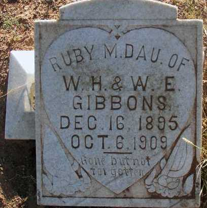 GIBBONS, RUBY M. - Apache County, Arizona | RUBY M. GIBBONS - Arizona Gravestone Photos