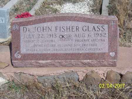 GLASS, DR. JOHN FISHER - Apache County, Arizona | DR. JOHN FISHER GLASS - Arizona Gravestone Photos