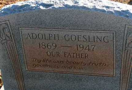 GOESLING, ADOLPH - Apache County, Arizona   ADOLPH GOESLING - Arizona Gravestone Photos