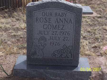 GOMEZ, ROSE ANNA - Apache County, Arizona | ROSE ANNA GOMEZ - Arizona Gravestone Photos