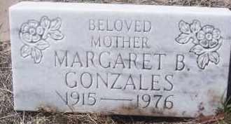 GONZALES, MARGARET B - Apache County, Arizona | MARGARET B GONZALES - Arizona Gravestone Photos