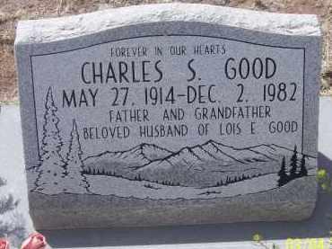 GOOD, CHARLES S. - Apache County, Arizona   CHARLES S. GOOD - Arizona Gravestone Photos