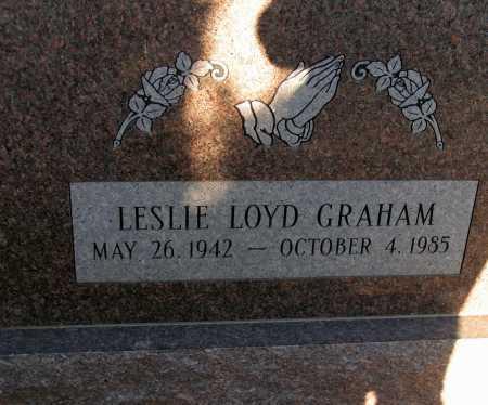 GRAHAM, LESLIE LOYD - Apache County, Arizona | LESLIE LOYD GRAHAM - Arizona Gravestone Photos