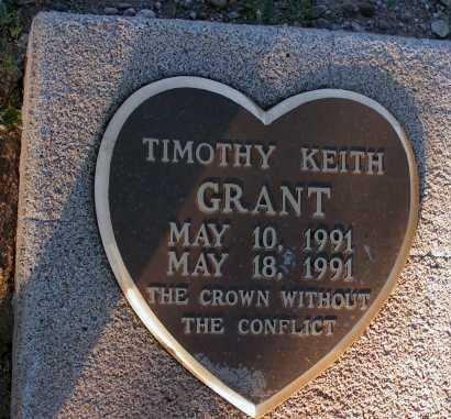 GRANT, TIMOTHY KEITH - Apache County, Arizona | TIMOTHY KEITH GRANT - Arizona Gravestone Photos