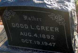 GREER, DODD L. - Apache County, Arizona | DODD L. GREER - Arizona Gravestone Photos