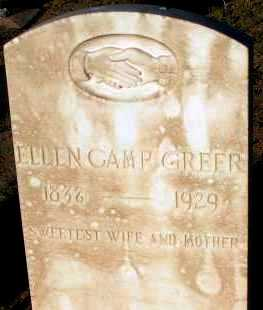 CAMP GREER, ELLEN - Apache County, Arizona | ELLEN CAMP GREER - Arizona Gravestone Photos