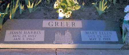 GREER, JOHN HARRIS - Apache County, Arizona   JOHN HARRIS GREER - Arizona Gravestone Photos