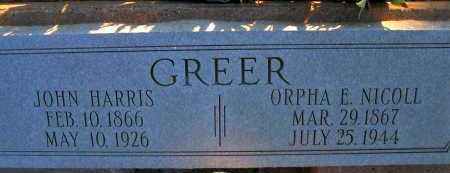 NICOLL GREER, ORPHA E. - Apache County, Arizona | ORPHA E. NICOLL GREER - Arizona Gravestone Photos