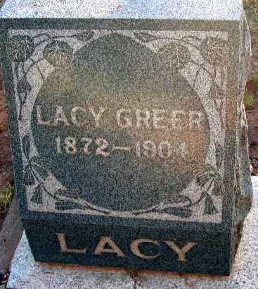 GREER, LACY - Apache County, Arizona | LACY GREER - Arizona Gravestone Photos