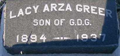 GREER, LACY ARZA - Apache County, Arizona | LACY ARZA GREER - Arizona Gravestone Photos