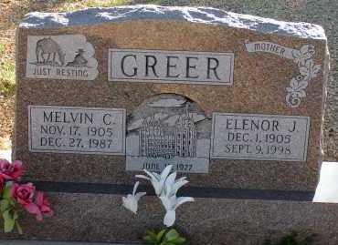GREER, ELENOR J. - Apache County, Arizona | ELENOR J. GREER - Arizona Gravestone Photos