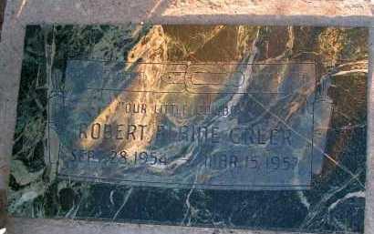 GREER, ROBERT BLAINE - Apache County, Arizona   ROBERT BLAINE GREER - Arizona Gravestone Photos
