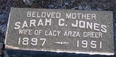 JONES GREER, SARAH C. - Apache County, Arizona | SARAH C. JONES GREER - Arizona Gravestone Photos