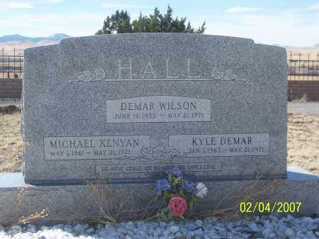 HALL, MICHAEL KENYAN - Apache County, Arizona | MICHAEL KENYAN HALL - Arizona Gravestone Photos