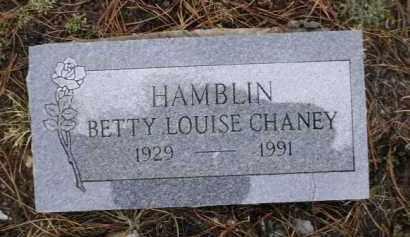 HAMBLIN, BETTY LOUISE - Apache County, Arizona | BETTY LOUISE HAMBLIN - Arizona Gravestone Photos