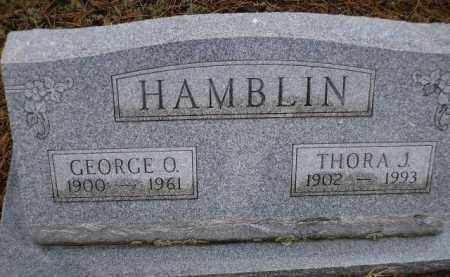 HAMBLIN, GEORGE O. - Apache County, Arizona | GEORGE O. HAMBLIN - Arizona Gravestone Photos