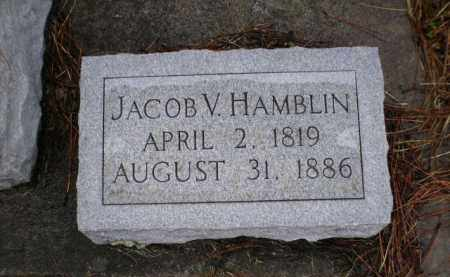 HAMBLIN, JACOB V. - Apache County, Arizona | JACOB V. HAMBLIN - Arizona Gravestone Photos