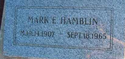 HAMBLIN, MARK E. - Apache County, Arizona   MARK E. HAMBLIN - Arizona Gravestone Photos