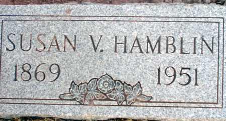HAMBLIN, SUSAN V. - Apache County, Arizona | SUSAN V. HAMBLIN - Arizona Gravestone Photos