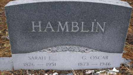 HAMBLIN, G. OSCAR - Apache County, Arizona | G. OSCAR HAMBLIN - Arizona Gravestone Photos
