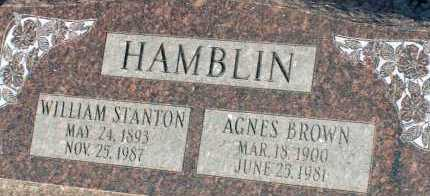 HAMBLIN, WILLIAM STANTON - Apache County, Arizona | WILLIAM STANTON HAMBLIN - Arizona Gravestone Photos