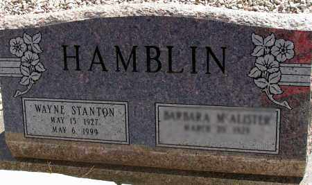HAMBLIN, WAYNE STANTON - Apache County, Arizona | WAYNE STANTON HAMBLIN - Arizona Gravestone Photos