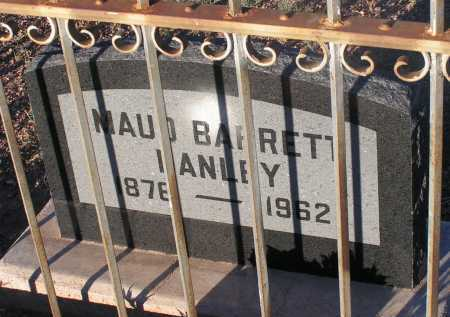 BARRETT HANLEY, MAUD - Apache County, Arizona | MAUD BARRETT HANLEY - Arizona Gravestone Photos