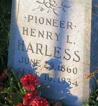 HARLESS, HENRY L. - Apache County, Arizona | HENRY L. HARLESS - Arizona Gravestone Photos