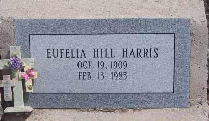 HARRIS, EUFELIA - Apache County, Arizona | EUFELIA HARRIS - Arizona Gravestone Photos