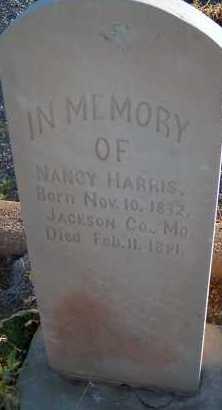 HARRIS, NANCY - Apache County, Arizona | NANCY HARRIS - Arizona Gravestone Photos