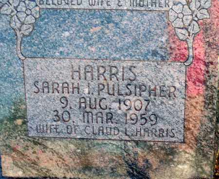 HARRIS, SARAH I. - Apache County, Arizona | SARAH I. HARRIS - Arizona Gravestone Photos
