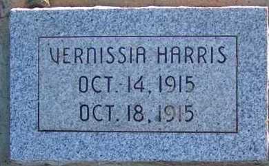 HARRIS, VERNISSIA - Apache County, Arizona | VERNISSIA HARRIS - Arizona Gravestone Photos