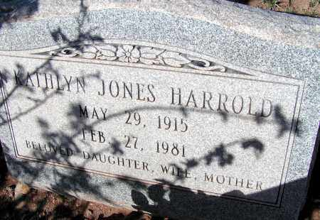 HARROLD, KATHLYN - Apache County, Arizona | KATHLYN HARROLD - Arizona Gravestone Photos