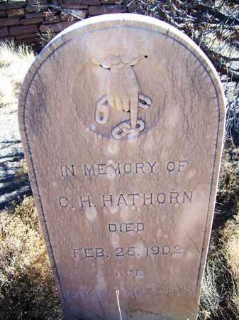 HATHORN, C H - Apache County, Arizona | C H HATHORN - Arizona Gravestone Photos