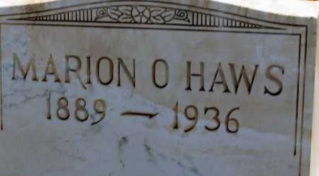 HAWS, MARION O. - Apache County, Arizona | MARION O. HAWS - Arizona Gravestone Photos
