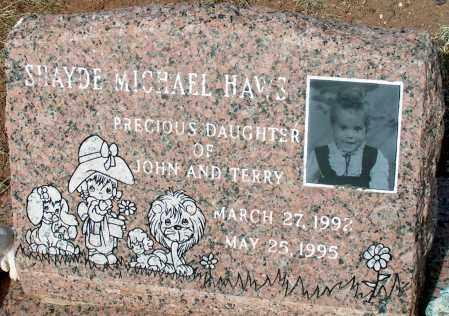 HAWS, SHAYDE MICHAEL - Apache County, Arizona   SHAYDE MICHAEL HAWS - Arizona Gravestone Photos