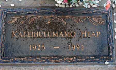 HEAP, KALEIHULUMAMO - Apache County, Arizona | KALEIHULUMAMO HEAP - Arizona Gravestone Photos
