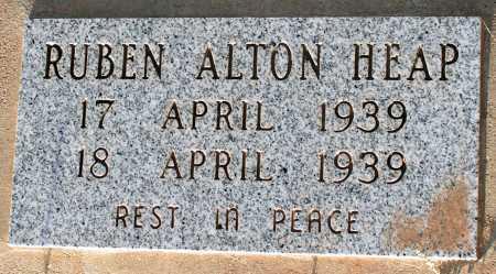 HEAP, RUBEN ALTON - Apache County, Arizona | RUBEN ALTON HEAP - Arizona Gravestone Photos