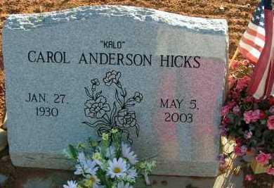 HICKS, CAROL - Apache County, Arizona   CAROL HICKS - Arizona Gravestone Photos