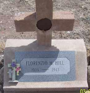 HILL, FLOREZIO M. - Apache County, Arizona | FLOREZIO M. HILL - Arizona Gravestone Photos