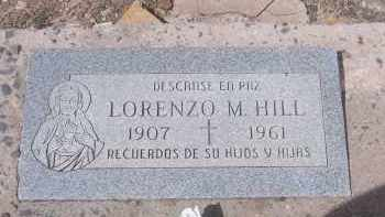 HILL, LORENZO M. - Apache County, Arizona | LORENZO M. HILL - Arizona Gravestone Photos
