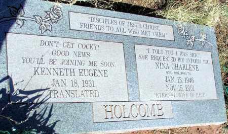 HOLCOMB, NINA CHARLENE - Apache County, Arizona | NINA CHARLENE HOLCOMB - Arizona Gravestone Photos