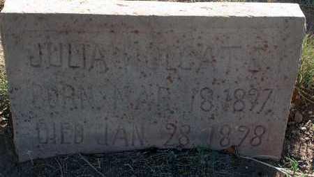 HOLGATE, JULIA - Apache County, Arizona | JULIA HOLGATE - Arizona Gravestone Photos