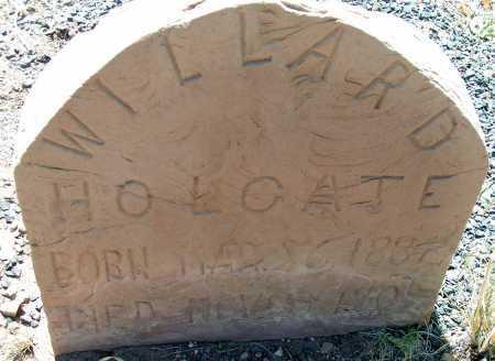 HOLGATE, WILLARD - Apache County, Arizona | WILLARD HOLGATE - Arizona Gravestone Photos