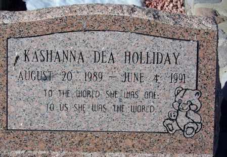 HOLLIDAY, KASHANA DEA - Apache County, Arizona   KASHANA DEA HOLLIDAY - Arizona Gravestone Photos