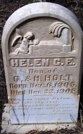 HOLT, HELEN C E - Apache County, Arizona | HELEN C E HOLT - Arizona Gravestone Photos
